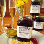 jam and champagne