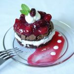 a brownie torte