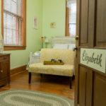 open door to elizabeth room
