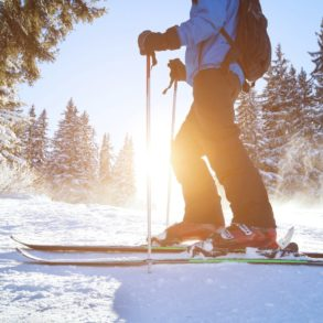 Skiing in Galena is a great way to explore our area in the winter.