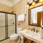 full bathroom in guest room