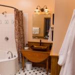 view of julia suite bathroom