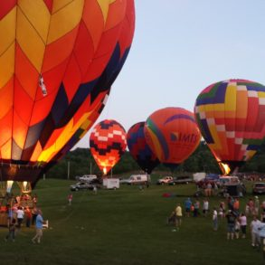 The great Great Galena Balloon Race is one of the best Galena events each year!