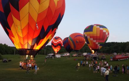 The Great Galena Balloon Race is a highlight of the summer!
