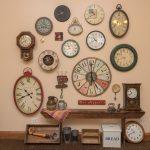 clocks on wall