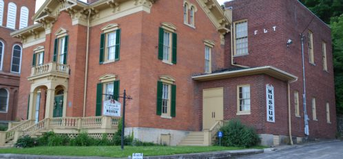 outside view of galena history museum