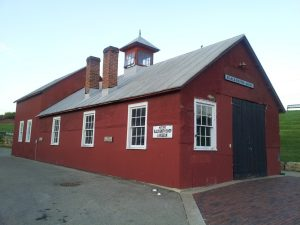 the Old blacksmith shop
