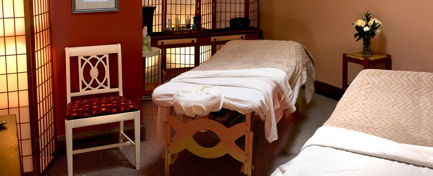 view of the massage room